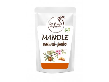 Mandle natural jumbo Bio sacek