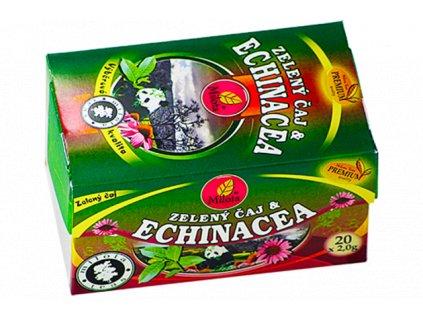 Zelený čaj s echinaceou 40g(20x2g) Milota teas Premium