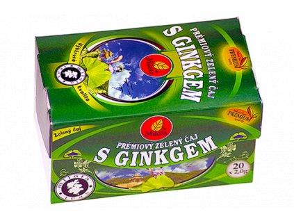 Zelený čaj s ginkgem 40g(20x2g) Milota teas Premium