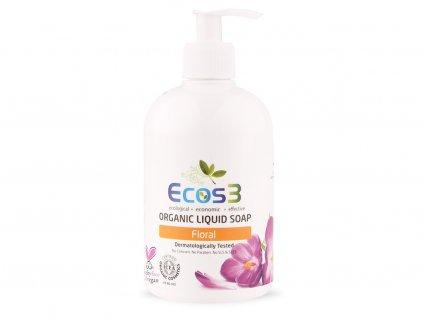 Organické tekuté mýdlo Floral 500ml ECOS3