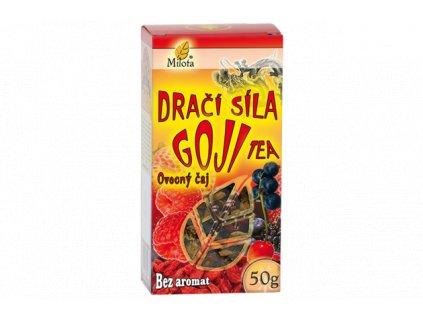 Dračí síla Goji tea 50g 100% přírodní ovocný čaj neobsahuje aromata