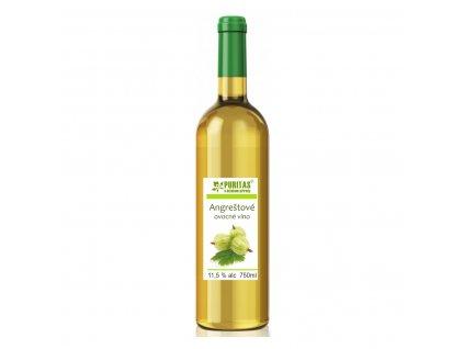 angreštové víno