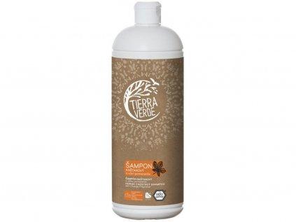 Šampon kaštanový svůní pomeranče 1l Tiera Verde