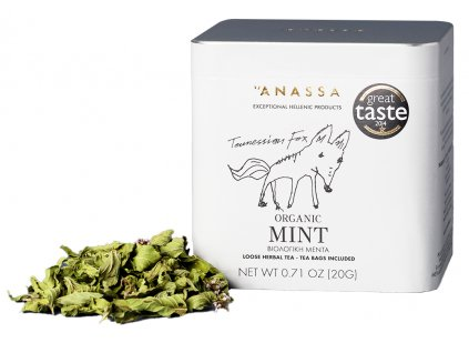 Anassa Organic Tea BIO máta 20g ANASSA
