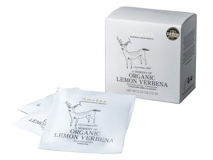 Anassa Organic Tea BIO lemon verbena v sáčcích 10g ANASSA