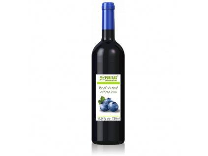 Borůvkové víno