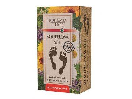 Bohemia Herb Koupelová sůl na nohy 200g