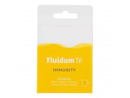 Extrakt čajový tekutý - Immunity Travel 2 ks BIO FLUIDUM TÉ