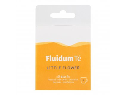 Extrakt čajový tekutý - Little Flower Travel 2 ks BIO FLUIDUM TÉ