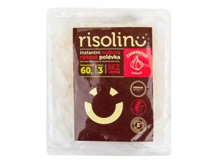 Polévka nudlová rýžová instantní česneková příchuť 60 g RISOLINO