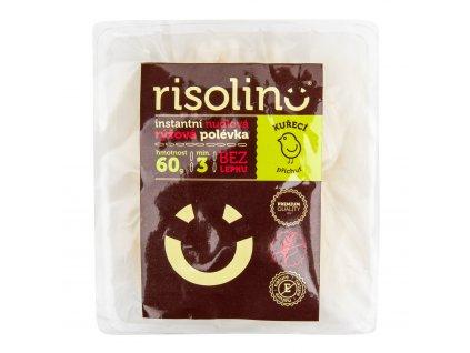 Polévka nudlová rýžová instantní kuřecí příchuť 60 g RISOLINO