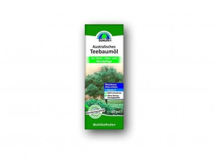 Australský čajovník - Tea tree oil 30ml SUNLIFE