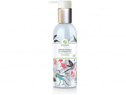 """Bio Vyživující šampon pro namáhané vlasy """"Zlatovláska"""" 200 ml Naturalis"""