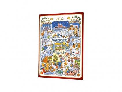 Adventní kalendář Lada 75g Carla