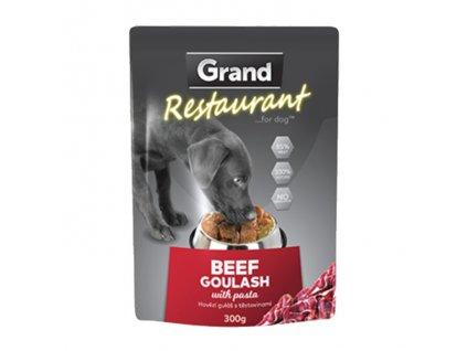 Grand Deluxe Resturant hovězí guláš, kapsa 300 g