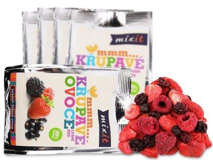 Křupavé ovoce do kapsy - Lesní mix (5 ks)