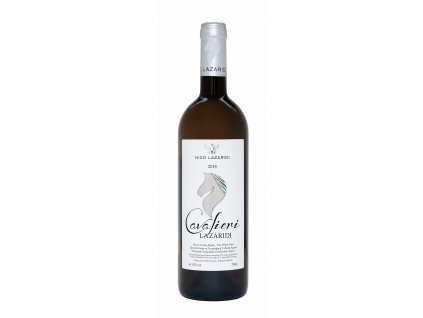 Nico Lazaridi vinařství Bílé suché víno CAVALIERI NICO LAZARIDI 750ml ročník: 2018