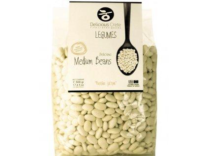 Středně velké bílé fazole DELICIOUS CRETE váha balení: 500g