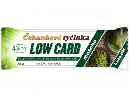 Čekanková tyčinka Low Carb matcha 35g 4Slim