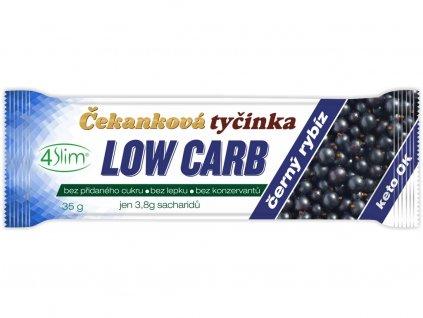 Čekanková tyčinka Low Carb černý rybíz 35g 4Slim