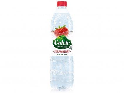 Ochucená voda Jahoda 1,5l VOLVIC
