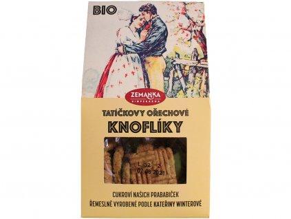 Bio oříškové sušenky s kakaem 100g K.W. Biopekárna Zemanka