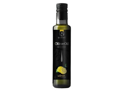 Gourmet Partners Extra panenský olivový olej & CITRON, sklo, 0,25 l