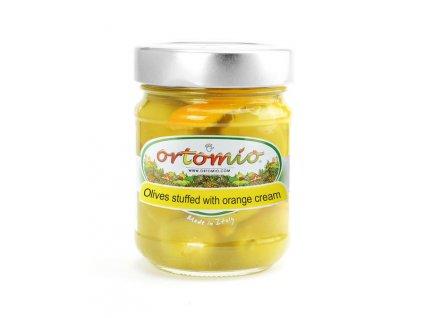 Ortomio Olivy plněné pomerančovým krémem, 212ml