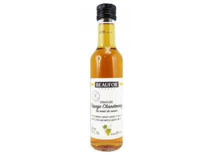 BEAUFOR Bílý vinný ocet s hroznovým moštem Cépage Chardonnay , 250 ml