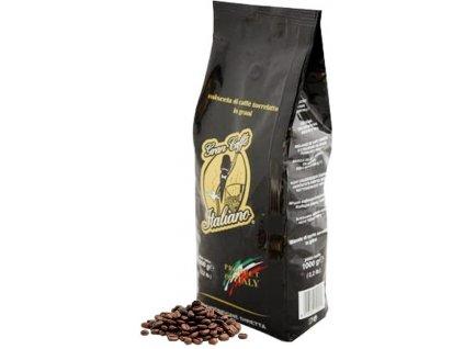 Caffé Cavaliere Káva v zrnech GRAN CAFFE ITALIANO, 100%, 1kg
