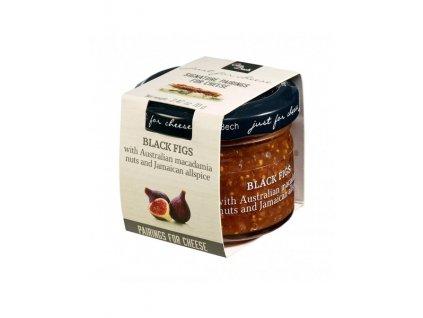 Can Bech MINI Confiture z černých fíků s makadamovými oříšky a jamajským pepřem, sklo 70g
