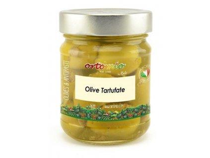 Ortomio Olivy s černým lanýžem, 212 ml
