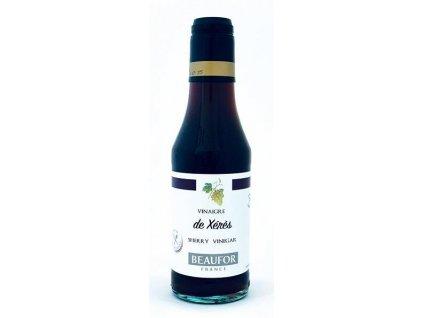 BEAUFOR Vinný ocet z SHERRY (Vinagre de Xerez), 7%, 250 ml