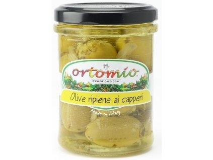 Ortomio Olivy plněné krémem z kapar, 212ml