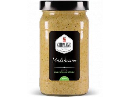 Gurmano MALIDZANO MILD zelený ajvar jemný, 490g
