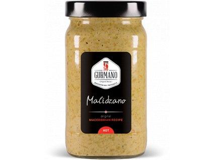 Gurmano MALIDZANO HOT zelený ajvar pálivý, 490g
