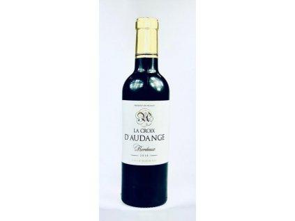 La Croix D´audange, bordeaux francouzské červené víno 0,375l