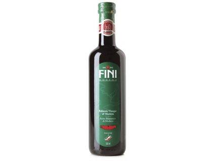 Fini Balsamico ocet Modena PGI, 1 lístek, sklo, 0.5l