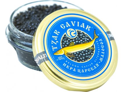"Gourmet Partners Tzar Delicates ""Beluga Caviar Alternative"" blue - sklenice, 100g"