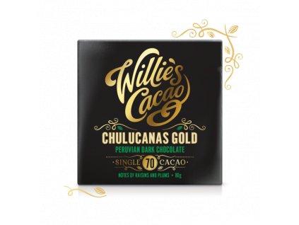 Willie's Cacao Čokoláda Peruvian Gold Chulucanas hořká 70%, 50g