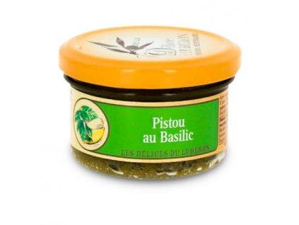 Delices du Luberon Bazalkové pesto z Provence, sklo, 90g