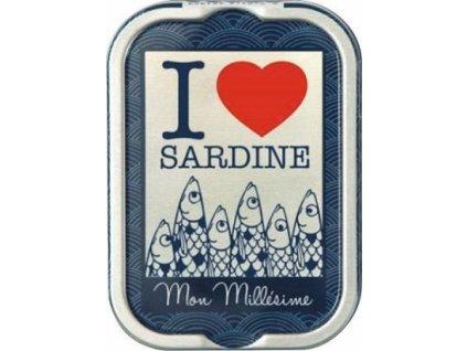 "La Perle Francouzské sardinky ""I LOVE sardine"" 115g"