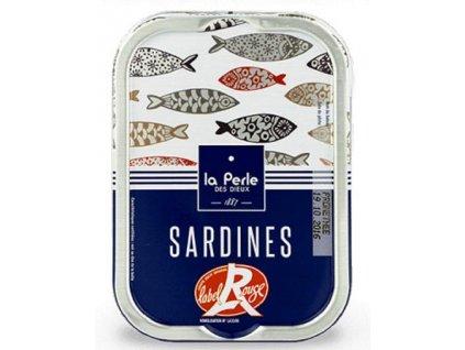 """La Perle Francouzké sardinky """"Label Rouge"""" 115g"""