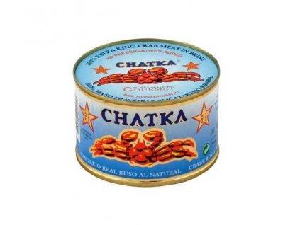 CHATKA Maso Kamčatského kraba, 100% kousky z těla , 185g/150g