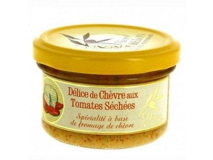 Delices du Luberon Pochoutka s kozím sýrem a sušenými rajčaty, sklo 90g