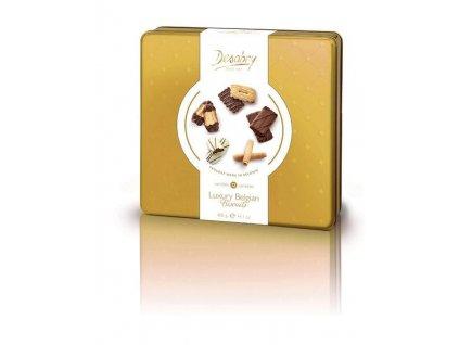 DESOBRY Dárková sada čokoládových sušenek Finest Gold, 400g