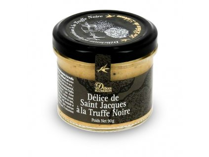 Delices du Luberon Lahůdka z mušlí Sv. Jakuba se zimním lanýžem, 90g