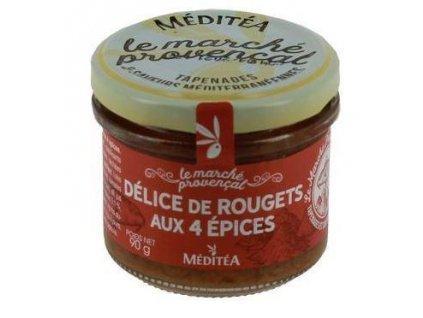 Meditea Paštika z červené parmice se 4 druhy koření, 90g