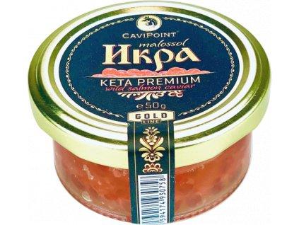 "Gourmet Partners Kaviár z divok. lososa ""KETA GOLD"", 50g"