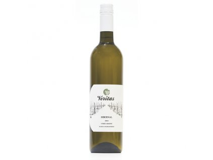 Víno bílé Hibernal ročník 2018 - výběr hroznů (polosladké) 750 ml BIO VERITAS